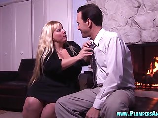 Long hair beamy Judith getting smashed hardcore missionary