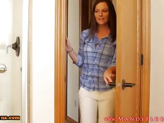 STEPMOMLOVER.COM: mommy training swelling to the brush sonnie two