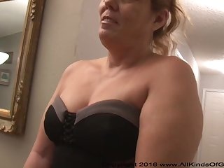 Mexican grandmother gilf with extensive ass attempts out for assfuck na