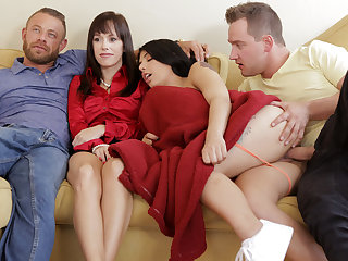 Youthful daughter-in-law and her stepbrother doing away with respecting rigid