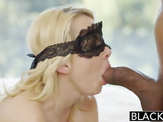 BLACKED Pretty Blonde Become man Aaliyah Love and Say no to Black Lover