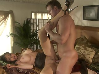Busty blonde Diana Prince gets her pussy disintegrated and fucked parson