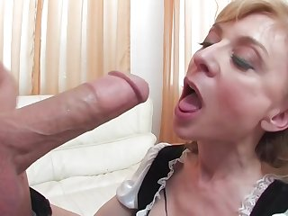 Nina's Maid To Pound - nina hartley hard coition video