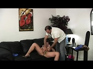 Horny bigtit brunette MILF Pornstar Diamond Foxxx fucks dick