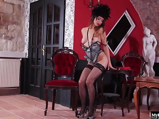 A long day be proper of pleasing the men down handy the saloon leaves this Western Glamour Doll full