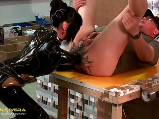 Dutiful carpenter gets properly teased approximately fixed similar by Carmen Rivera