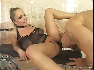 Jessica Moore's shaved pussy gets pounded relating to a naughty and hot oversexed stud