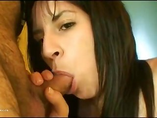 Seductive Argentinian Bitch Sucks And Gets Fucked