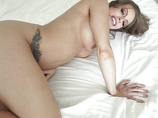 Big dick close by mommy's ass after she sucks close by POV