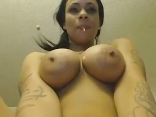 This thick minx with a big booty loves to smash her have a crush on holes with her toys