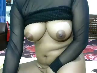 Hot allied to fire webcam nympho exposes her sexy boobs added to masturbates