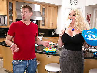 Alura 'TNT' Jenson WelCUMs the ground-breaking young lad to the Neighborhood