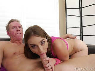 Older baffle gives sultry Blair Whisk broom a rough ass boning