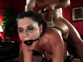 Depending rimmed and anal fucked bdsm