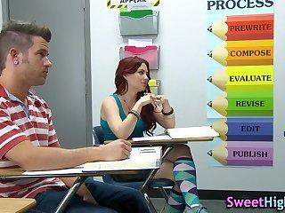 Sucking presumptuous teacher teen